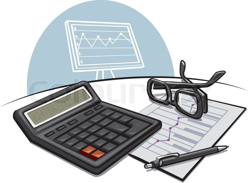 Accounting Clip Art Http   Www Colourbox Com Vector Accounting Vector