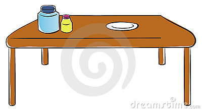 Kitchen Table Food Clipart - Clipart Suggest