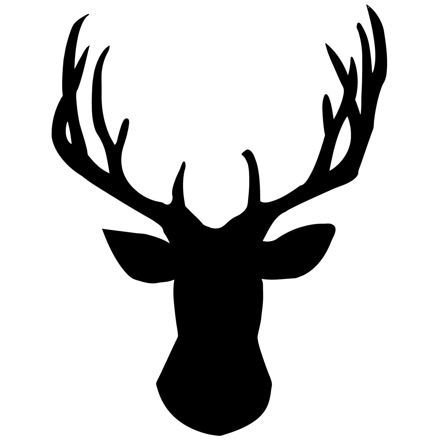 Buck Head Outline Free Cliparts That You Can Download To You