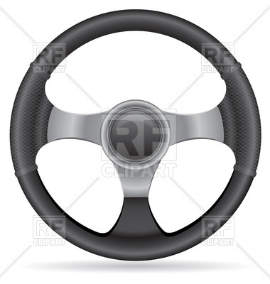 Car S Steering Wheel Download Royalty Free Vector Clipart  Eps