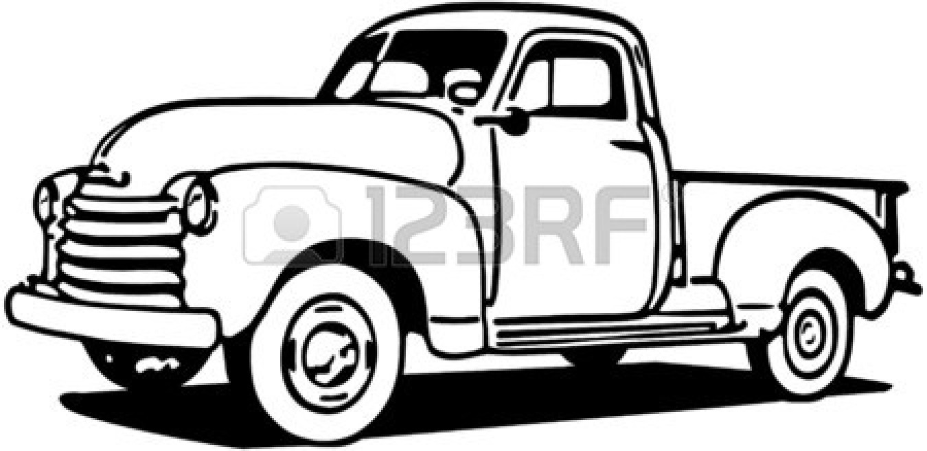 Chevy Pickup Truck Clipart   Clipart Panda   Free Clipart Images
