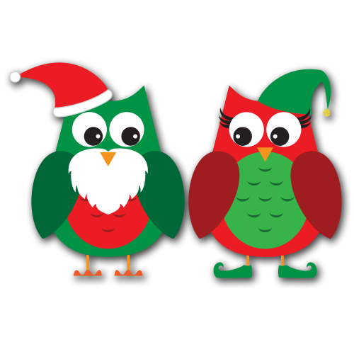 merry christmas owl clipart clipart suggest Merry Christmas Clip Art christmas owl clip art free