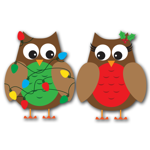 winter owl christmas clipart clipart suggest Christmas Owl Clip Art Black and White christmas owl clip art free