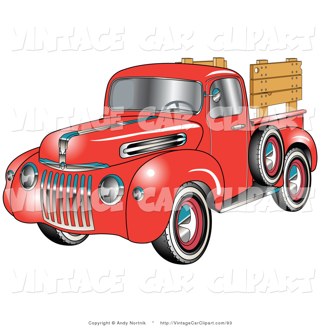 Antique Truck Clipart