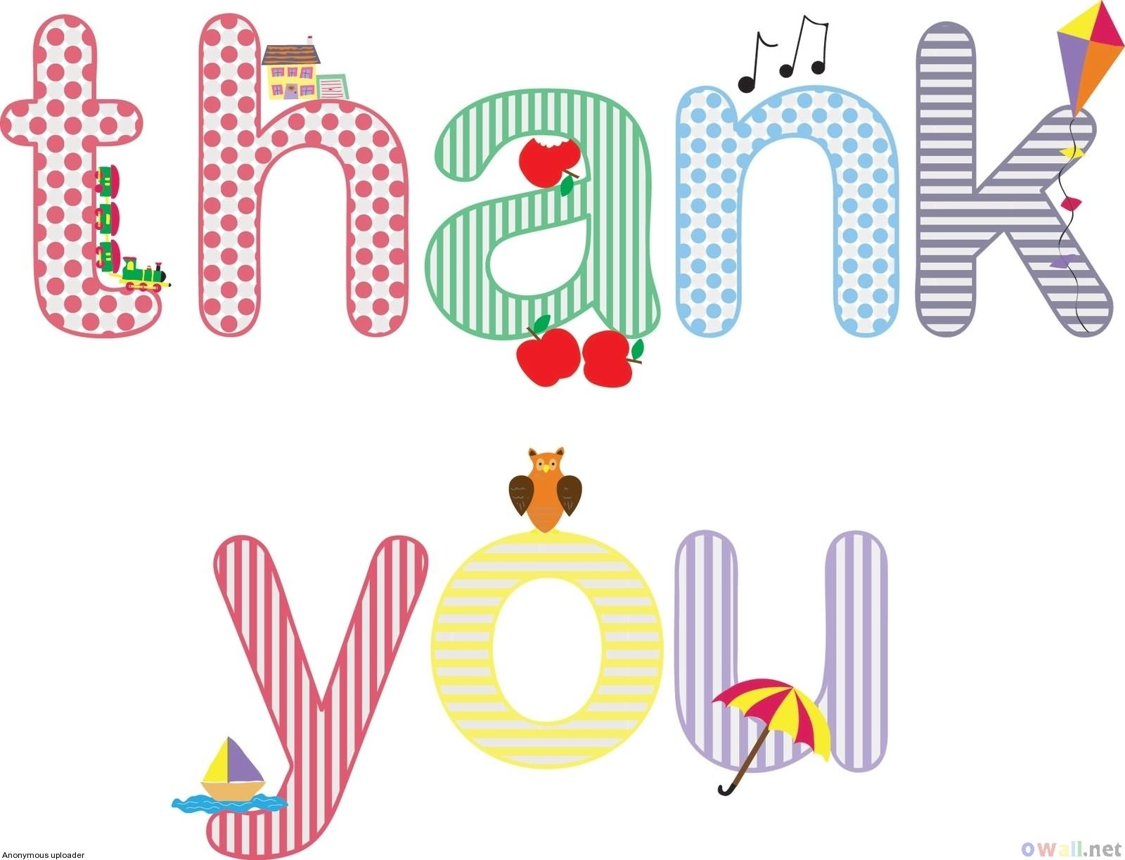 For Forums   Url Http   Www Imagesbuddy Com Thank You Colorful Clipart
