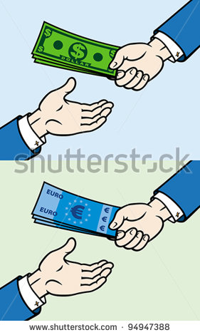 Giving Money Clipart Hand Giving Money To Other