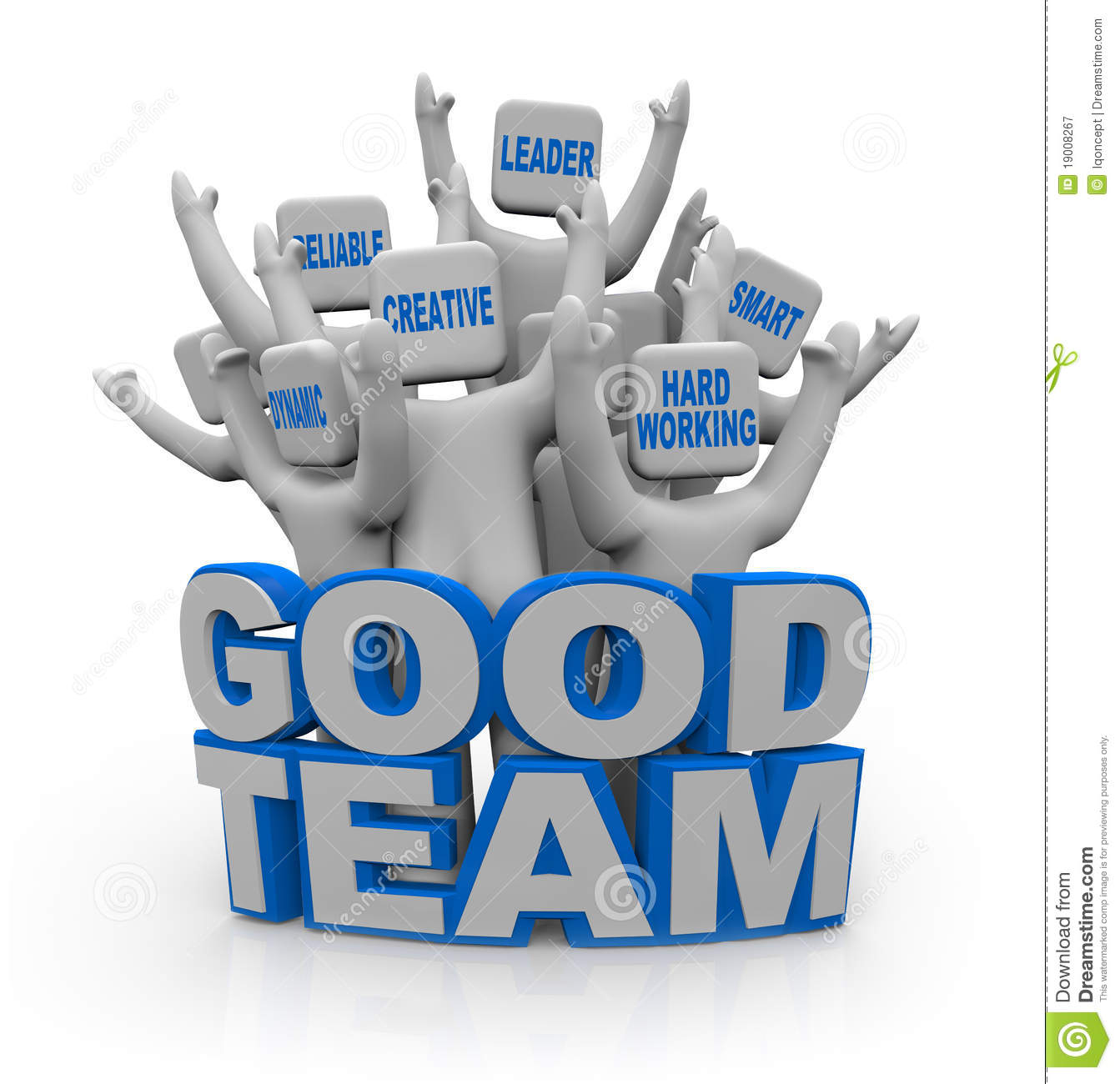 Good Team   People With Teamwork Qualities