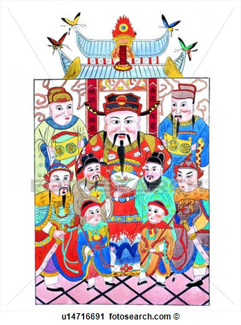 Of Wealth Religion Chinese God Tradition Chinese Culture Deities