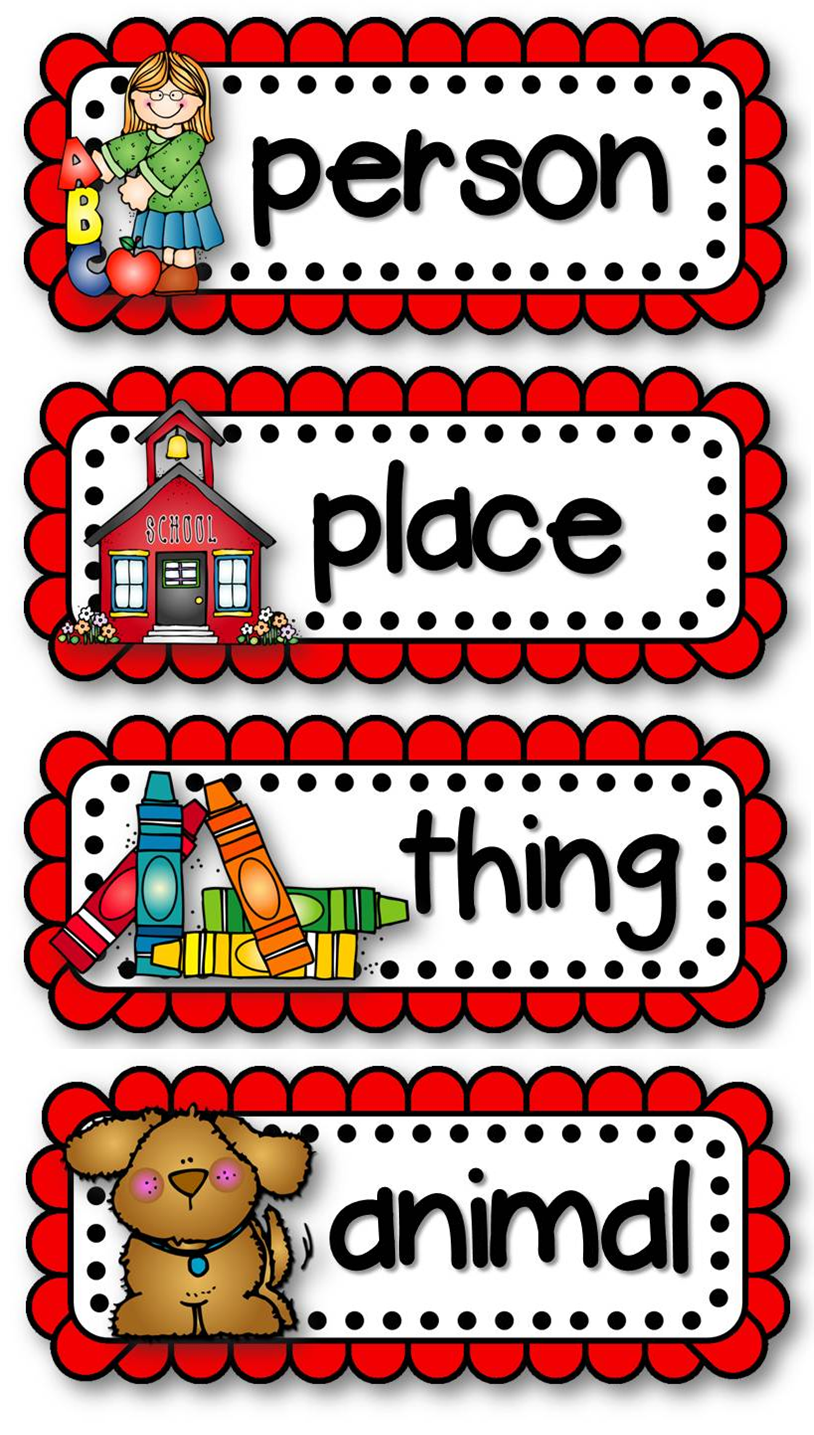 Worksheet Noun Pictures For Kids common nouns clipart kid proper noun i made similar ones