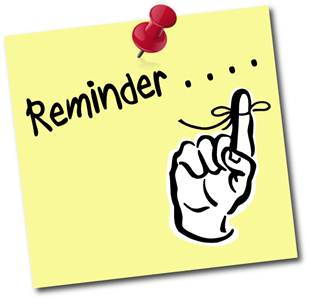 Just A Friendly Reminder Clipart - Clipart Kid