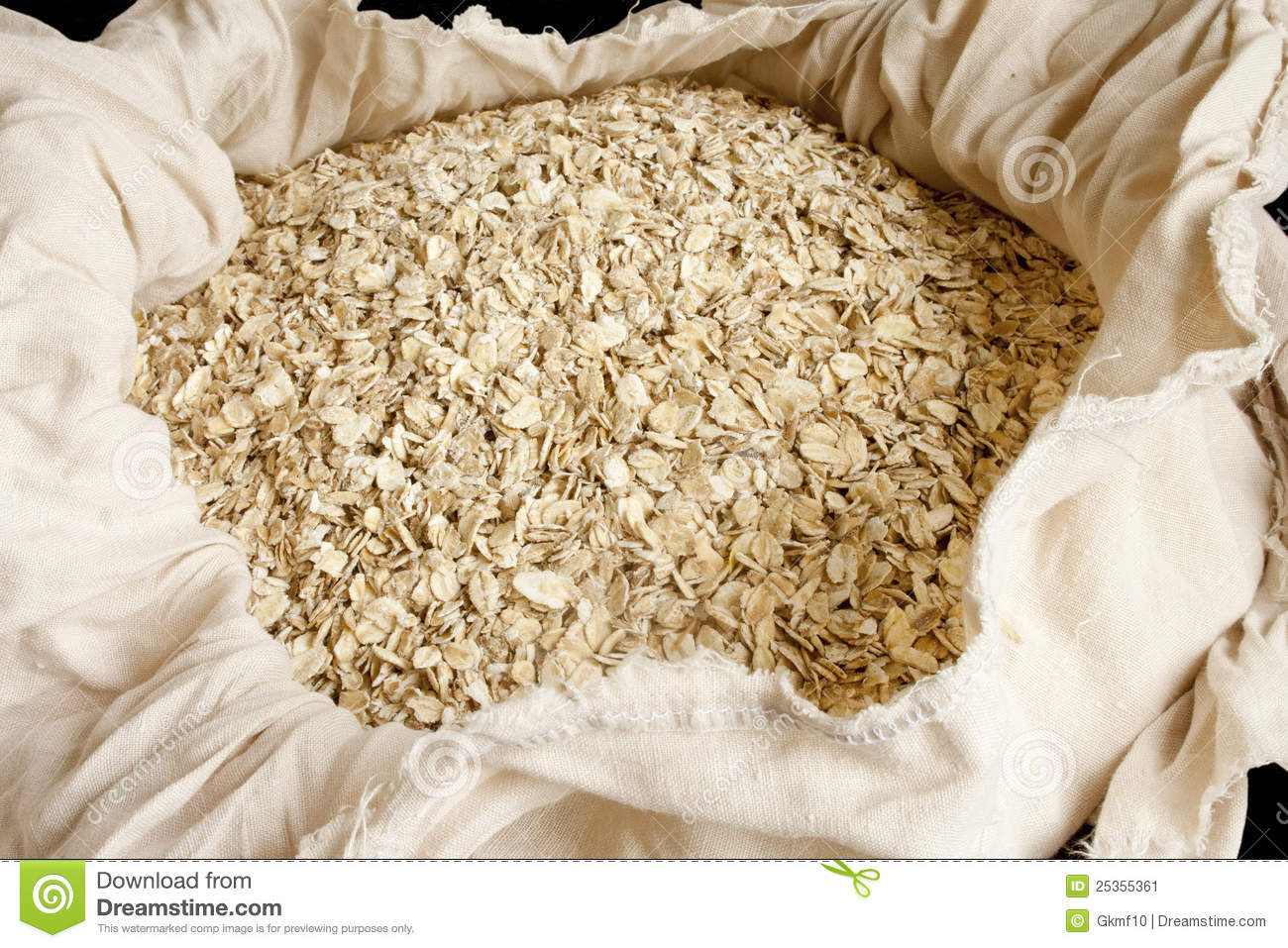 Rolled Oats Stock Image   Image  25355361
