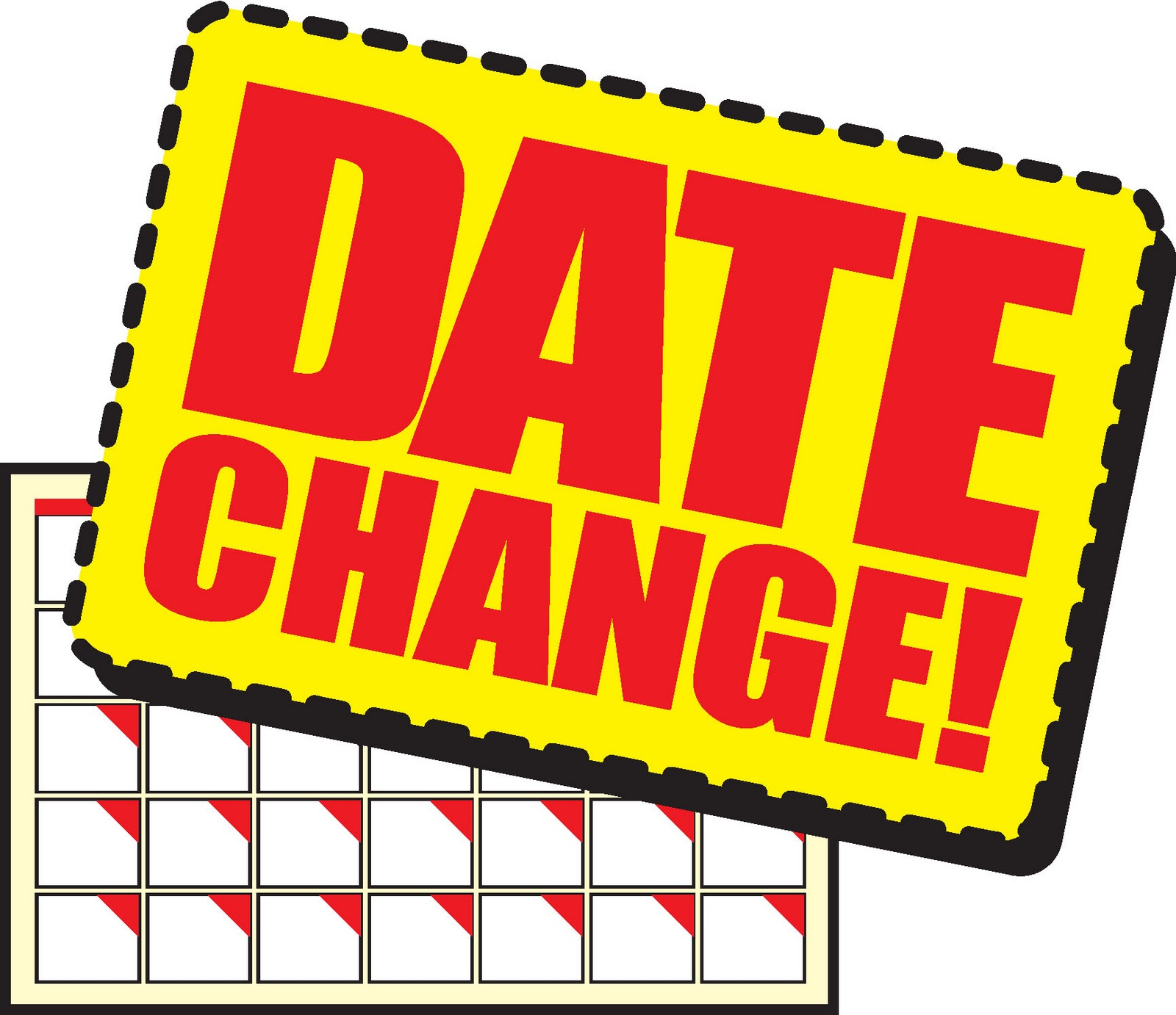 Date Change Clipart - Clipart Kid