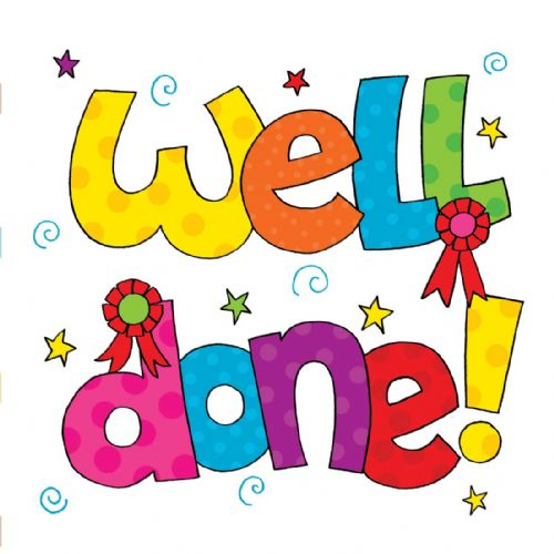Well Done Congratulations Card 679 P500x500