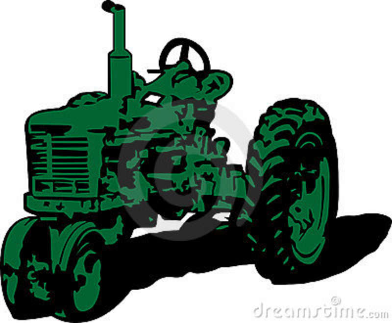 vintage tractor clipart - photo #2