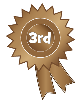 3rd Place Clipart 3rd Place Rosette Clipart