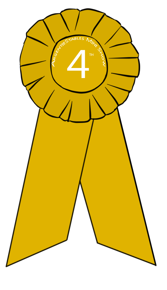 4th Place Ribbon Clipart