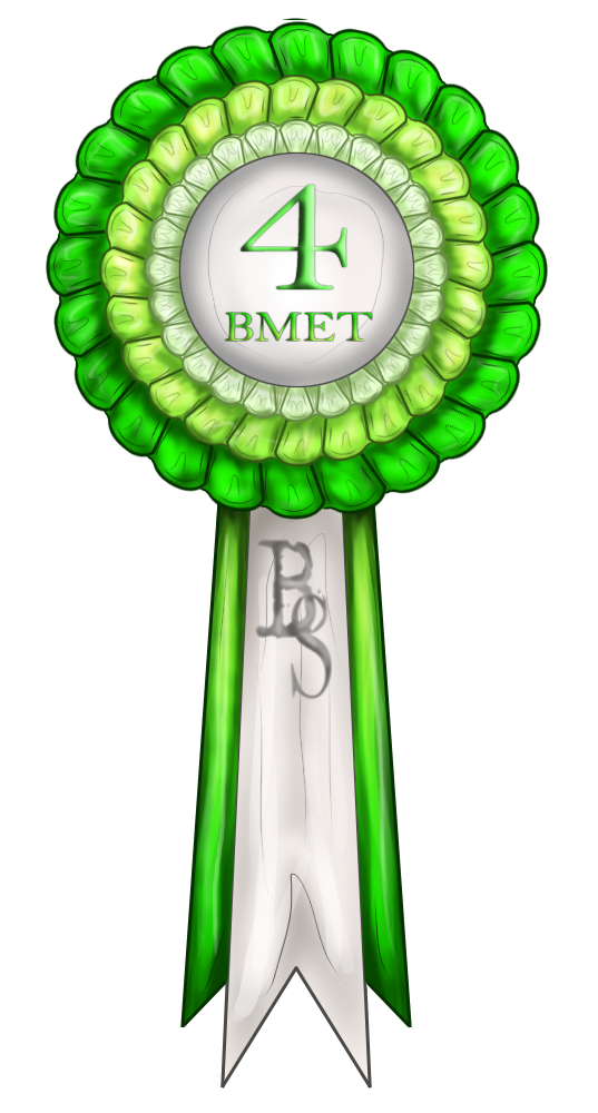 Bmet   4th Place Ribbon By Baringa Of The Wind On Deviantart