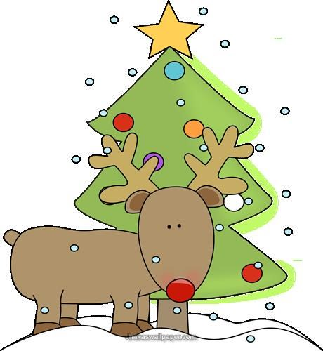 Christmas Reindeer Clipart   Fashionnow Website