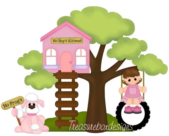 Clubhouse   Outdoor Fun Clipart   Pinterest