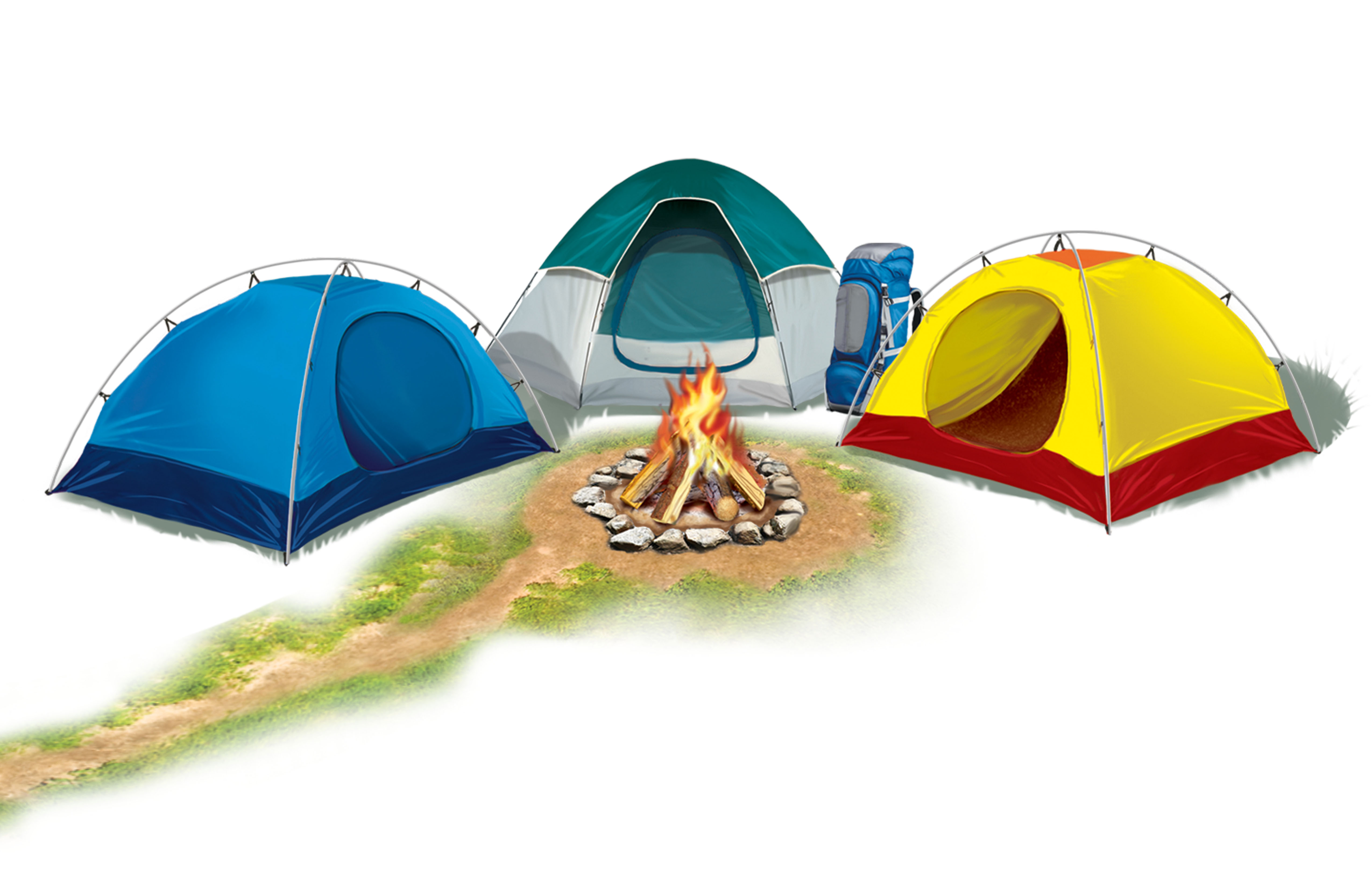 Camping Clipart - Clipart Kid