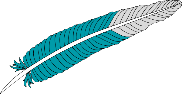 Feather Clip Art At Clker Com   Vector Clip Art Online Royalty Free