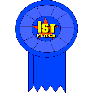 First Place Ribbon Clipart