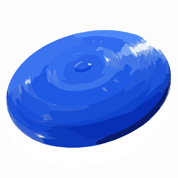 Frisbee Clip Art At Clker Com   Vector Clip Art Online Royalty Free