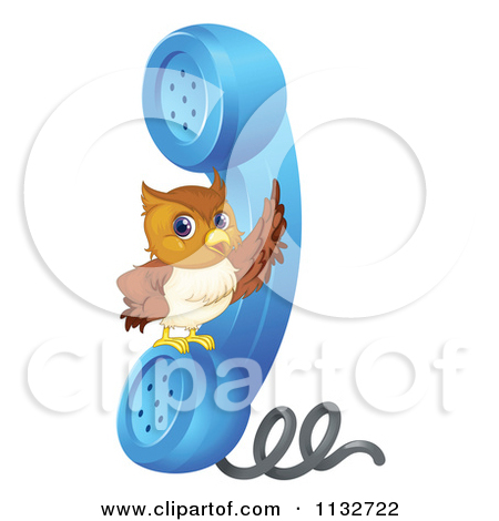 Of A Cute Owl Flying 4   Royalty Free Vector Clipart By Colematt