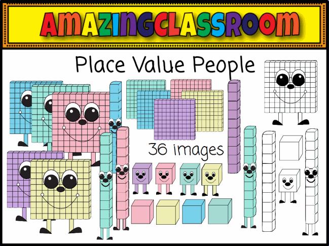 Place Value Clipart - Clipart Kid