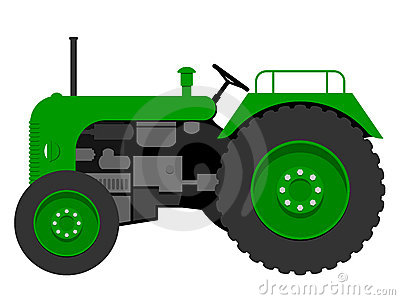 Old Tractor Royalty Free Stock Images   Image  8535709