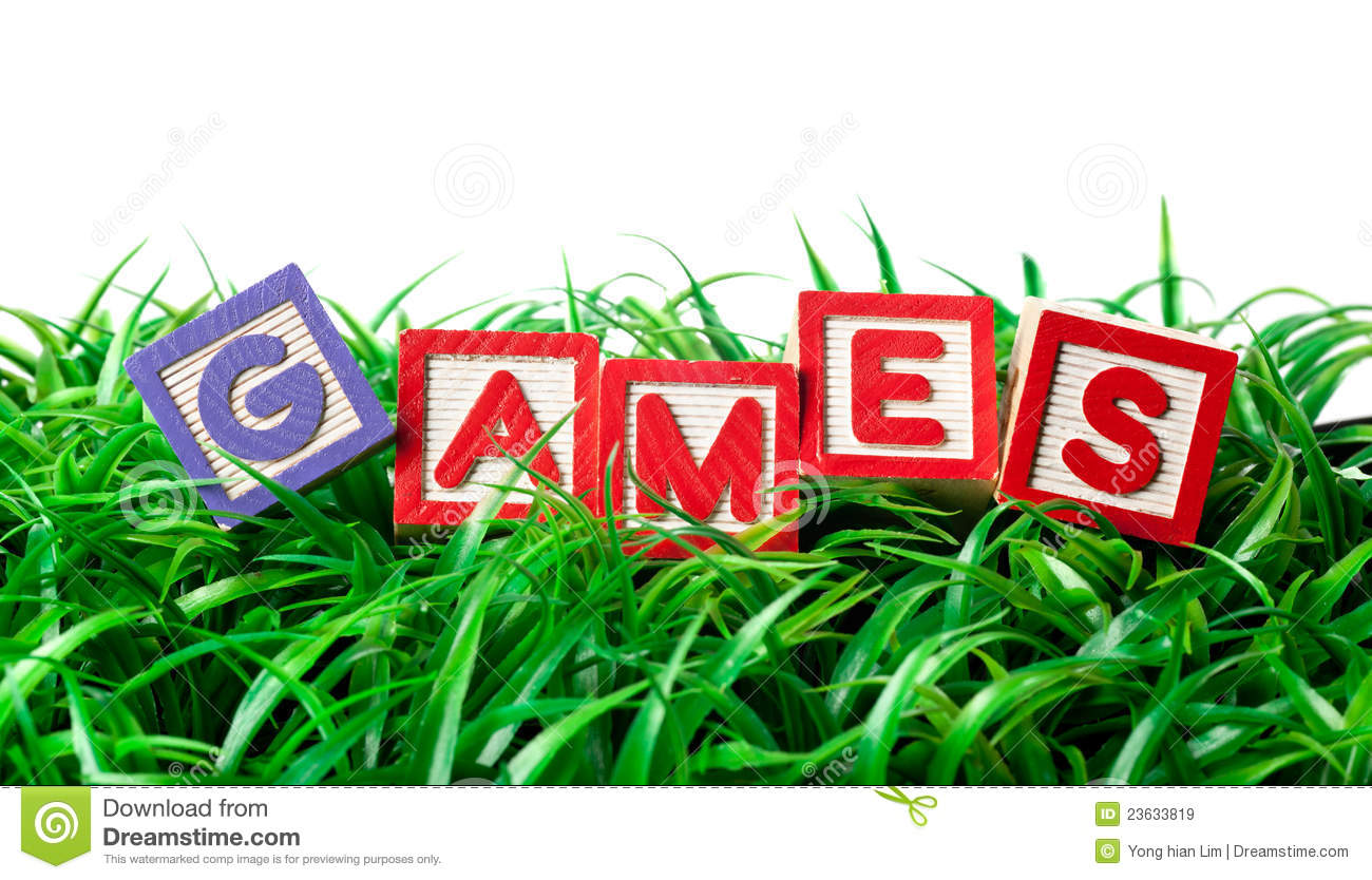 Outdoor Games Royalty Free Stock Images   Image  23633819