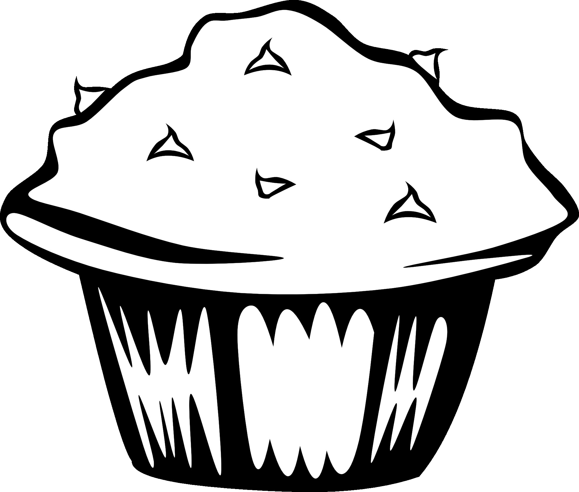 Food Black And White Clipart - Clipart Suggest