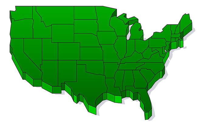 Us Map Clip Art For Powerpoint Us Free Printable US Maps - Us map illustrator