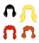 Red Hair Wig Clipart   Pinit Gallery
