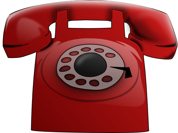 Red Phone Clip Art At Clker Com   Vector Clip Art Online Royalty Free