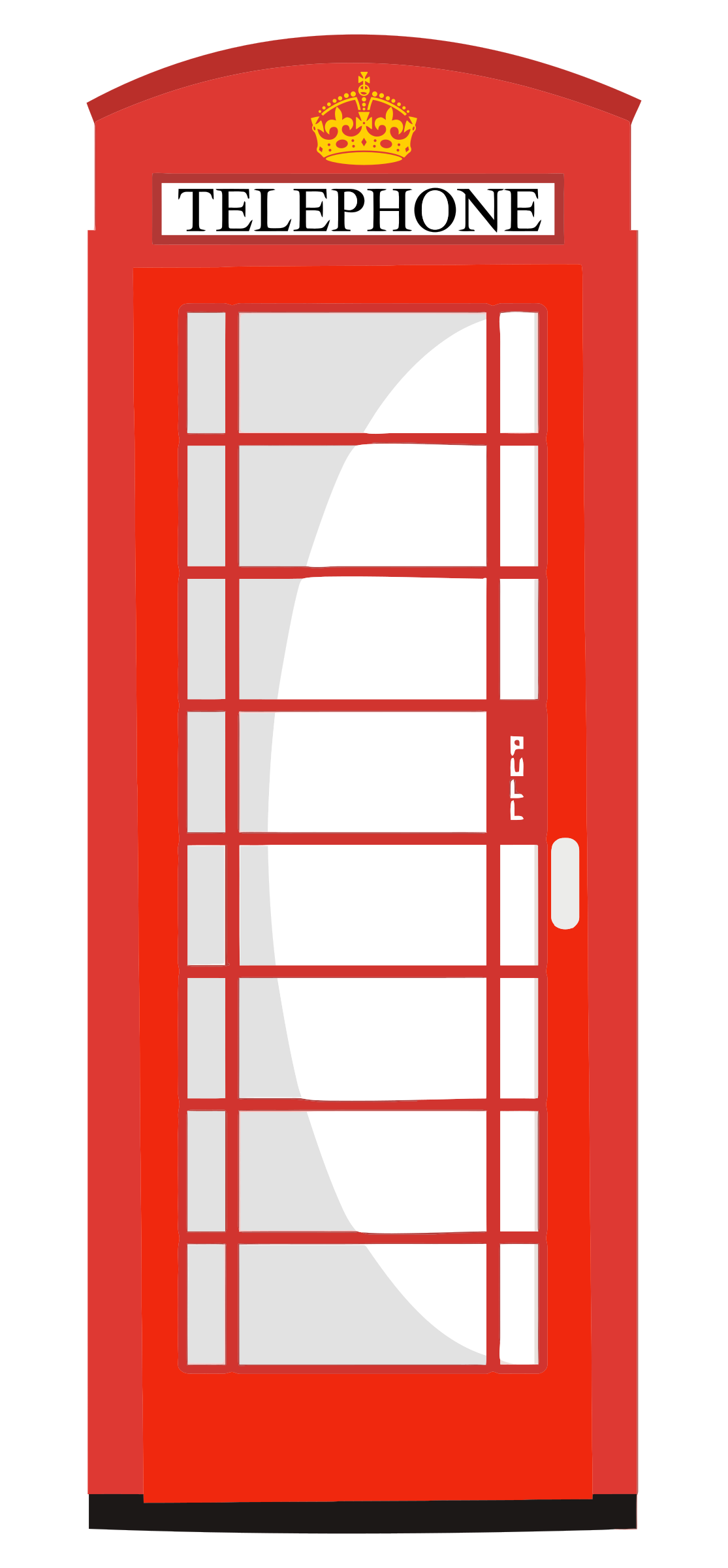 Red Telephone Box By Gdj