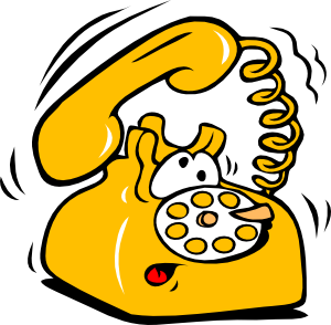 Animated Telephone Clipart - Clipart Kid