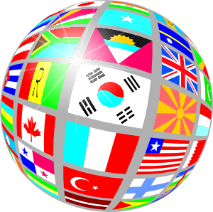 Sphere Flags Clip Art At Clker Com   Vector Clip Art Online Royalty