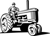 Tractor Clip Art Vector Graphics  5391 Tractor Eps Clipart Vector And
