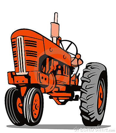 Vintage Red Tractor   Clipart Panda   Free Clipart Images