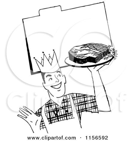 Steak Black And White Clipart - Clipart Kid