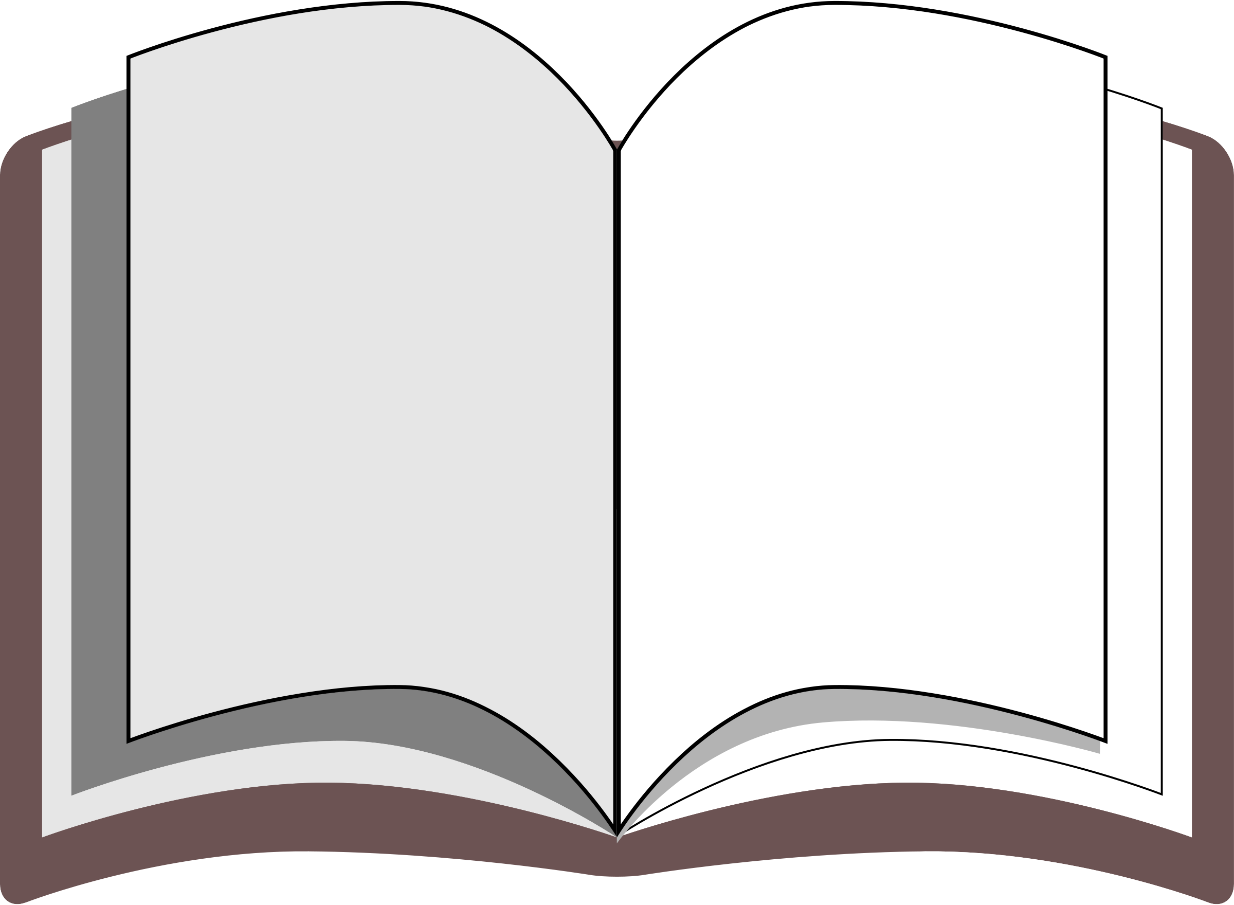 clipart open book blank pages - photo #47