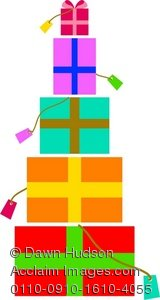Stack Of Birthday Presents Clipart - Clipart Kid