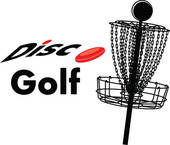 Disc Golf   Clipart Graphic