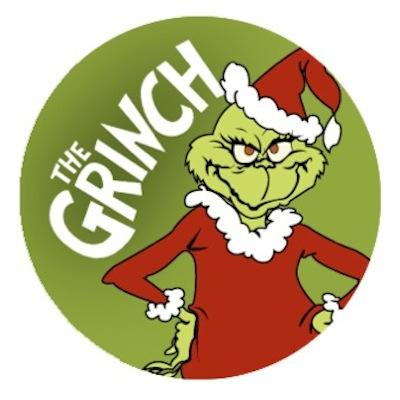 Dr Seuss Grinch Christmas Edible Cookie And Cupcake Toppers 24