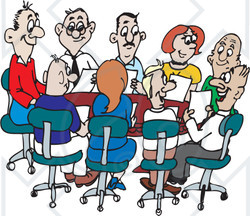 Funny Staff Meeting Clipart - Clipart Kid