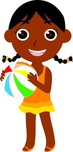 African American Girl Clipart - Clipart Kid