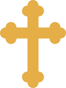 Gold Orthodox Cross Clip Art At Clker Com   Vector Clip Art Online