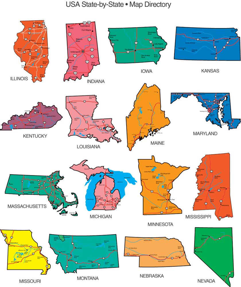 us map editable free