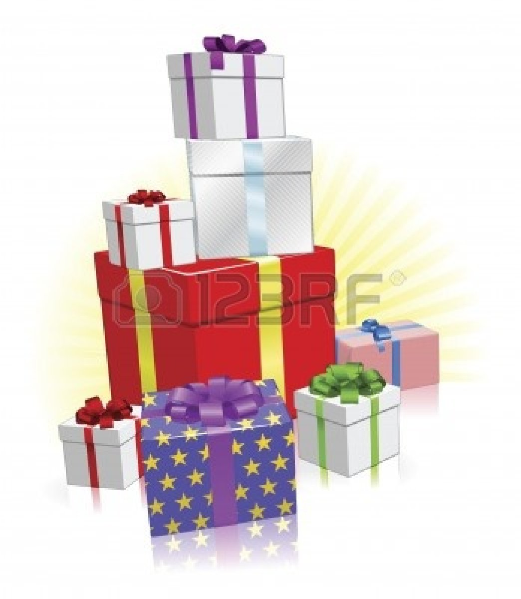 Of Birthday Presents Clipart   Clipart Panda   Free Clipart Images